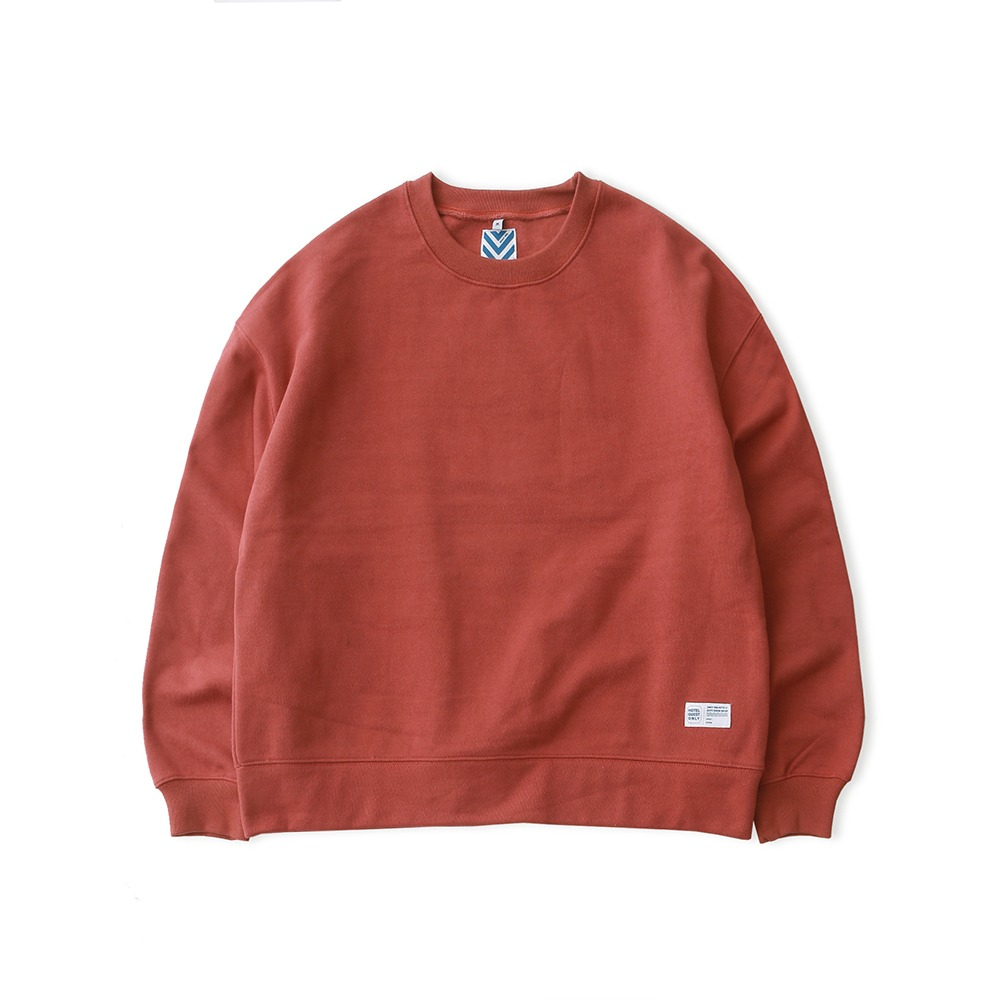 DAILY INNHotel Signature 970G Super Heavy Weight Oversized Sweat(Brick)30% off