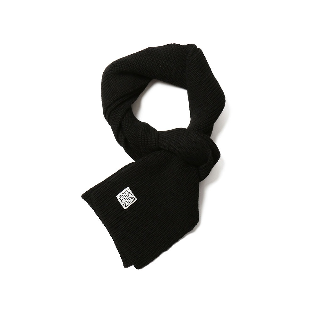 HORLISUNSkiff Knit Muffler(Black)10% off