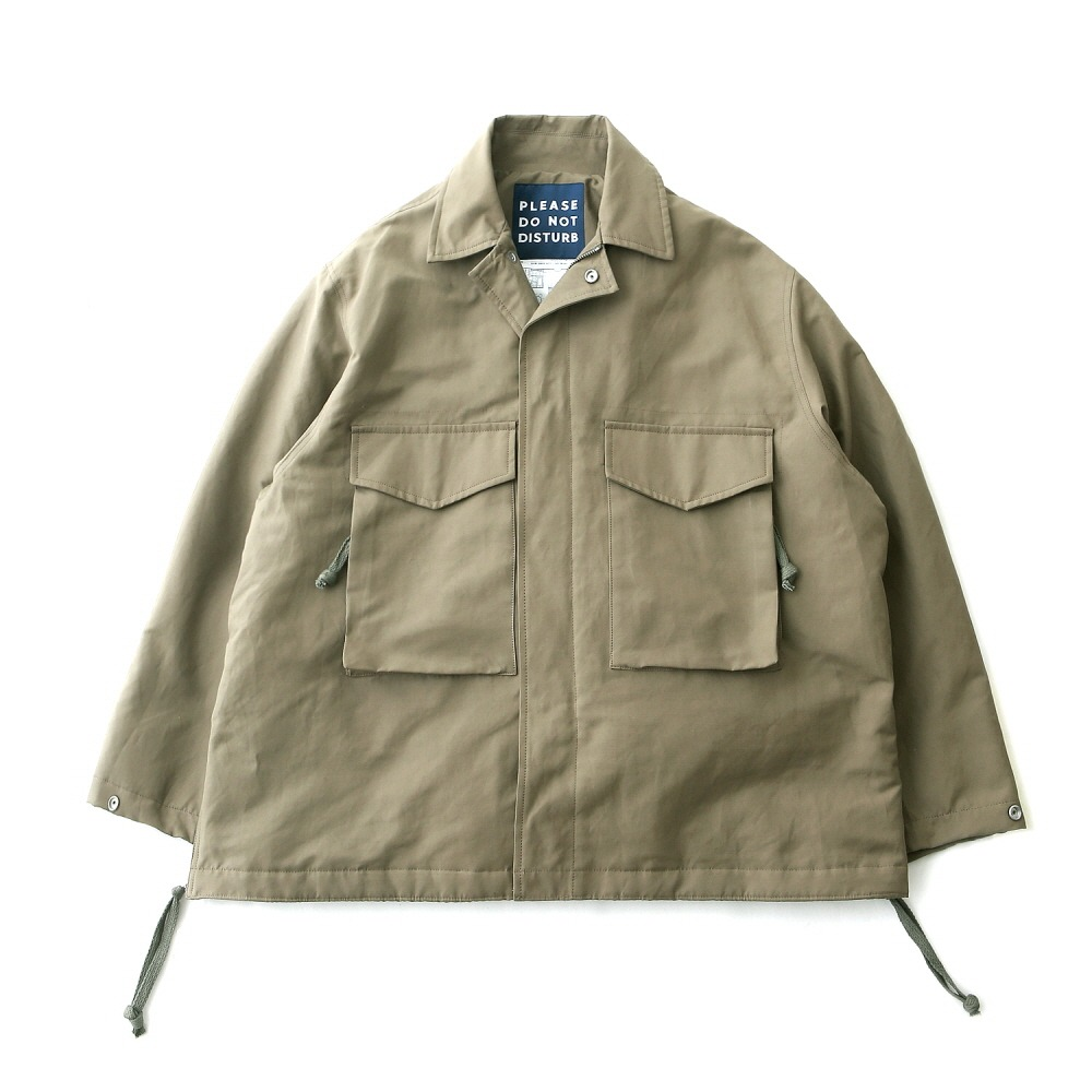 DAILY INNHotel Security M-65 Oversized Jacket(Military)