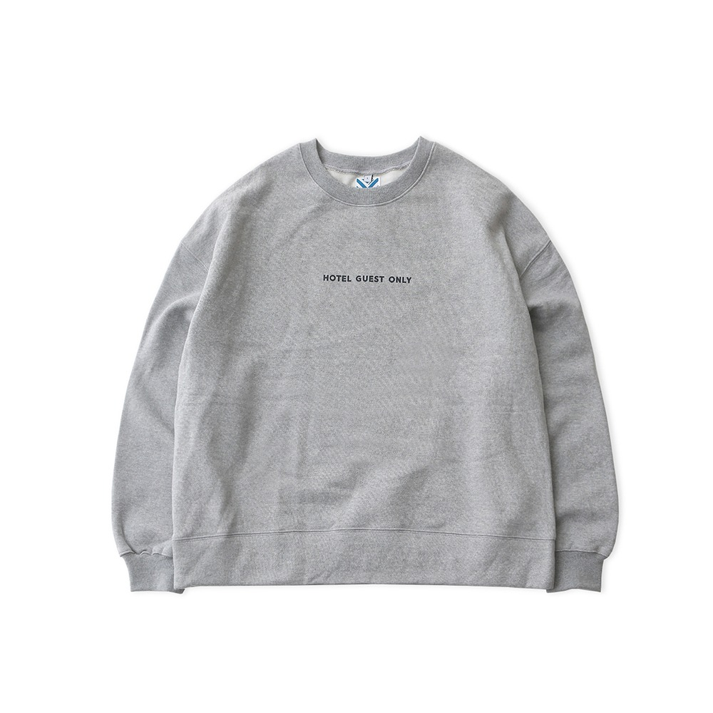DAILY INNHotel Guest Only Heavy Weight Oversized Sweat(Melange Grey)