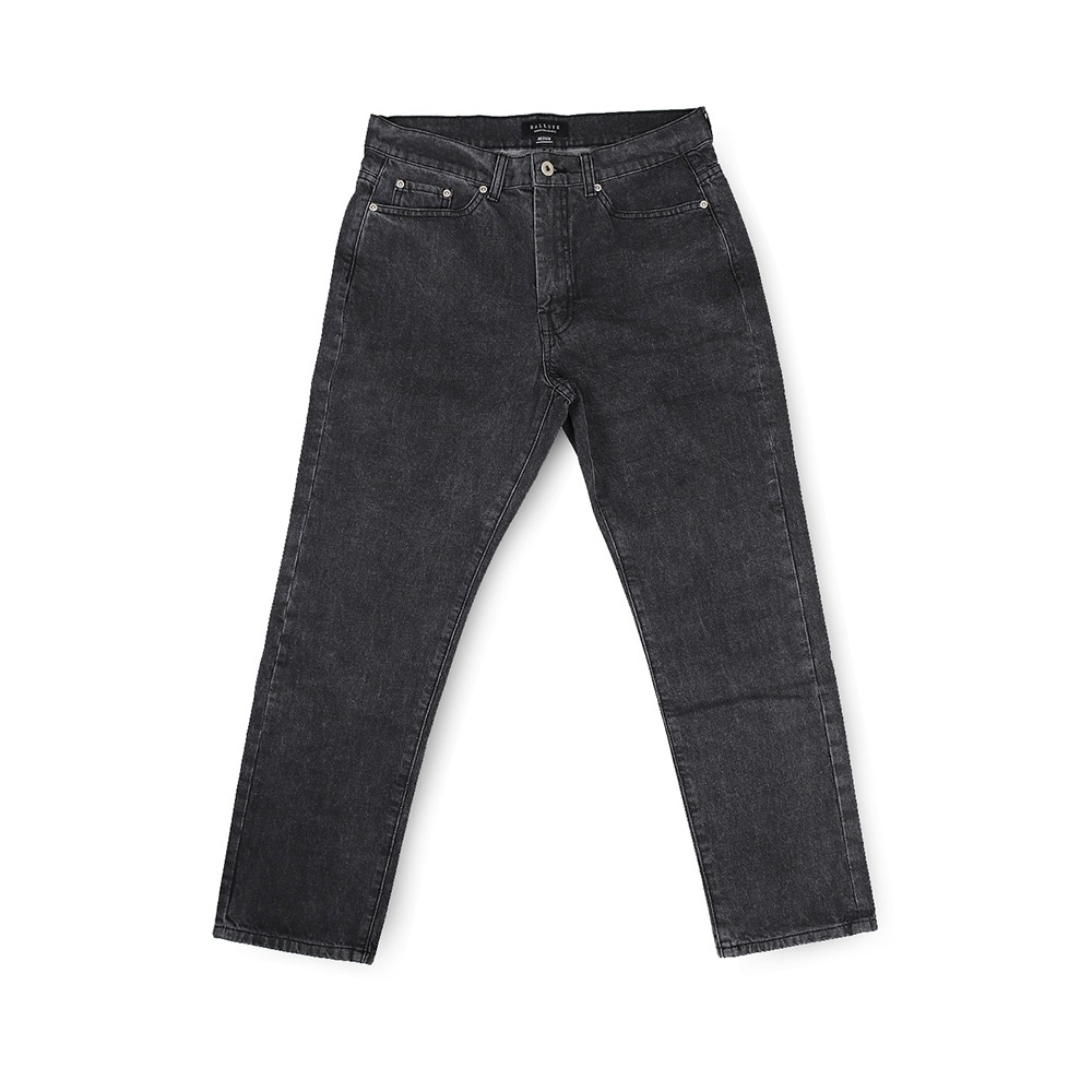 BALLUTESignature Denim Pants (Black)30% Off
