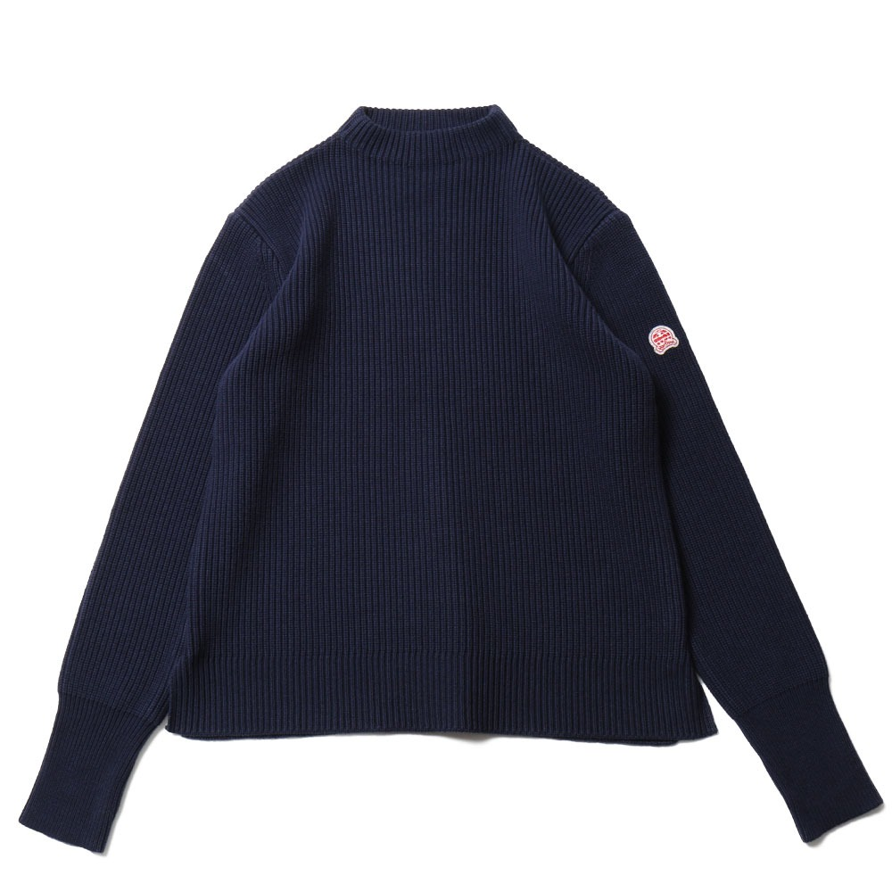 HORLISUNNorthyork Mock Neck Knit(Royal Navy)10% off