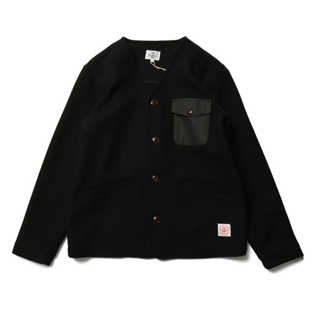 HORLISUNMarion Pocket Cardigan Knit(Black)20% off
