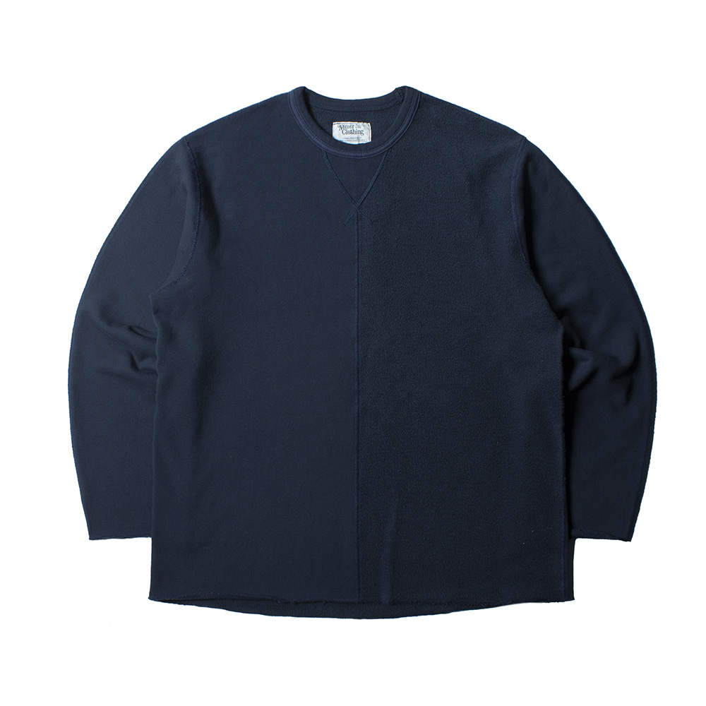 NAMER CLOTHING2nd Half Crewneck(Navy)