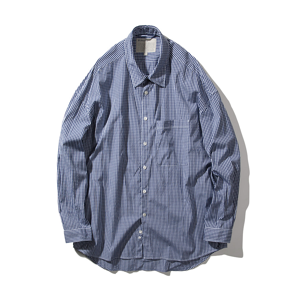 POTTERYAtelier ShirtBlue Check