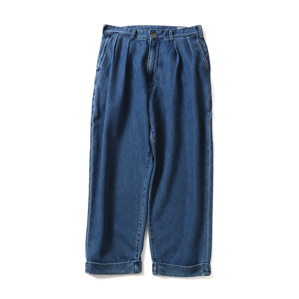HORLISUNCorrigin Wide Denim Pants(Light Navy)