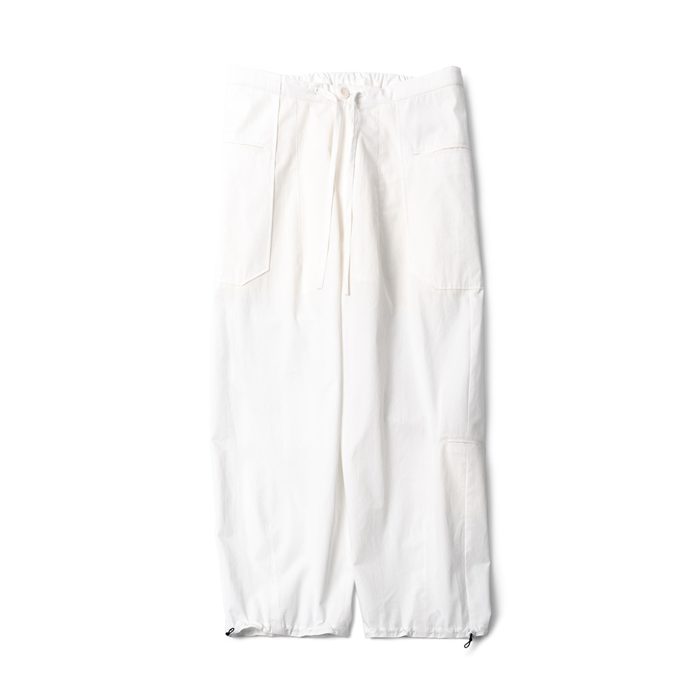 POLYTERULiso Pants(White)