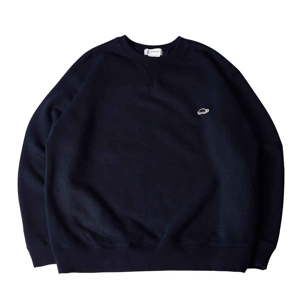 TOEUnisex EMB Long Sleeve Sweatshirt(Navy)