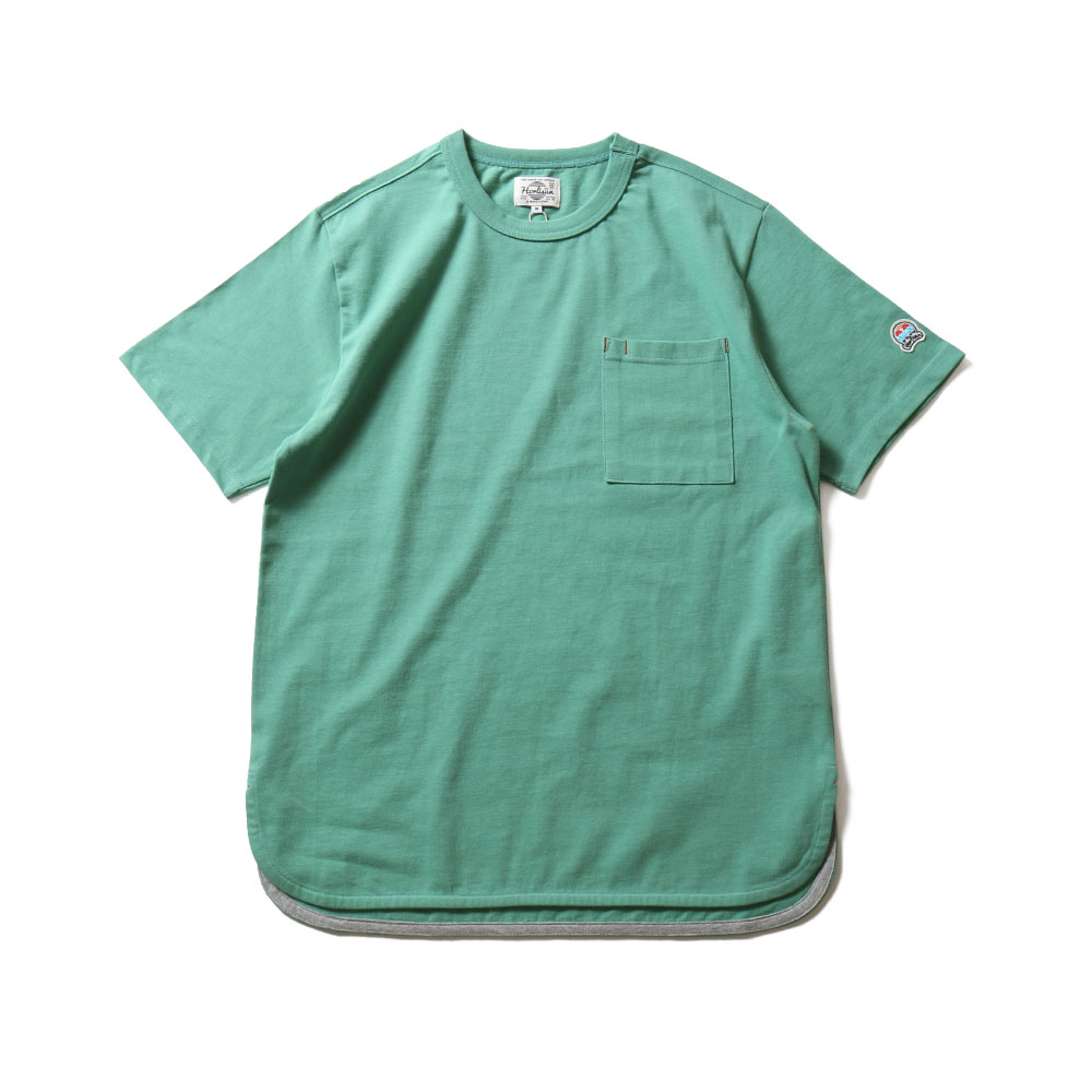 HORLISUNEmery Short Sleeve Pocket T(Green)