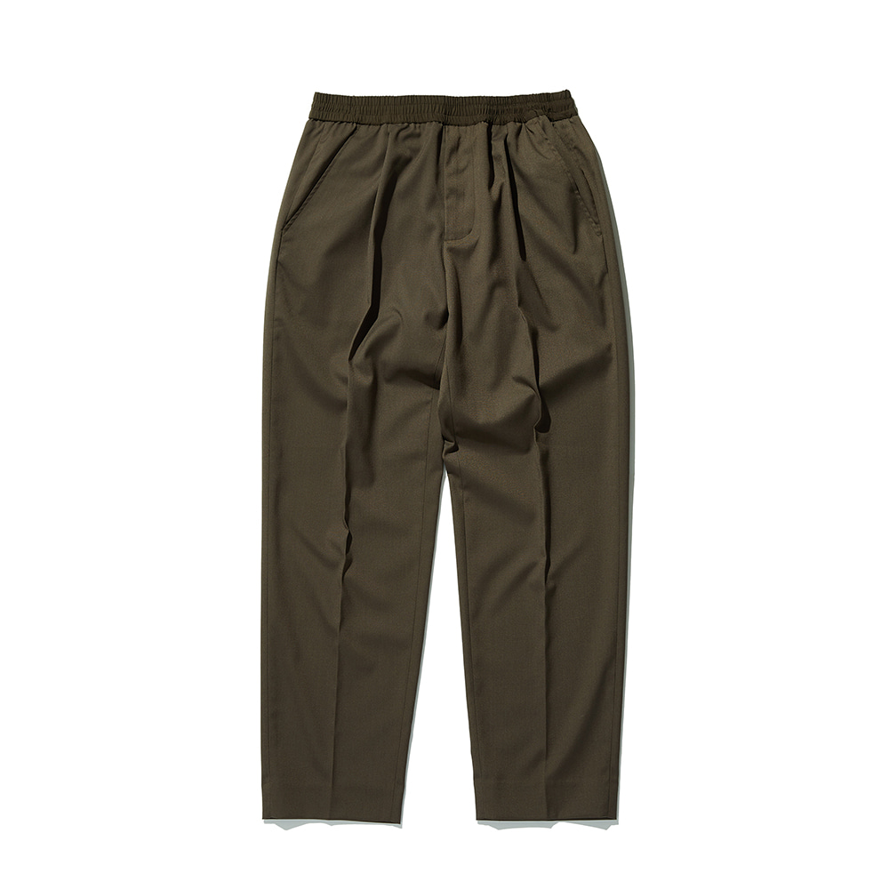 ESFAIInvisible Drawstring Trousers(Khaki)