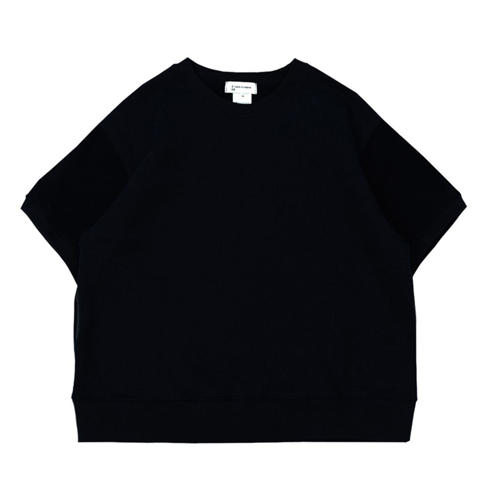 TOEHalf Sleeve Pocket Sweatshirt(Navy)