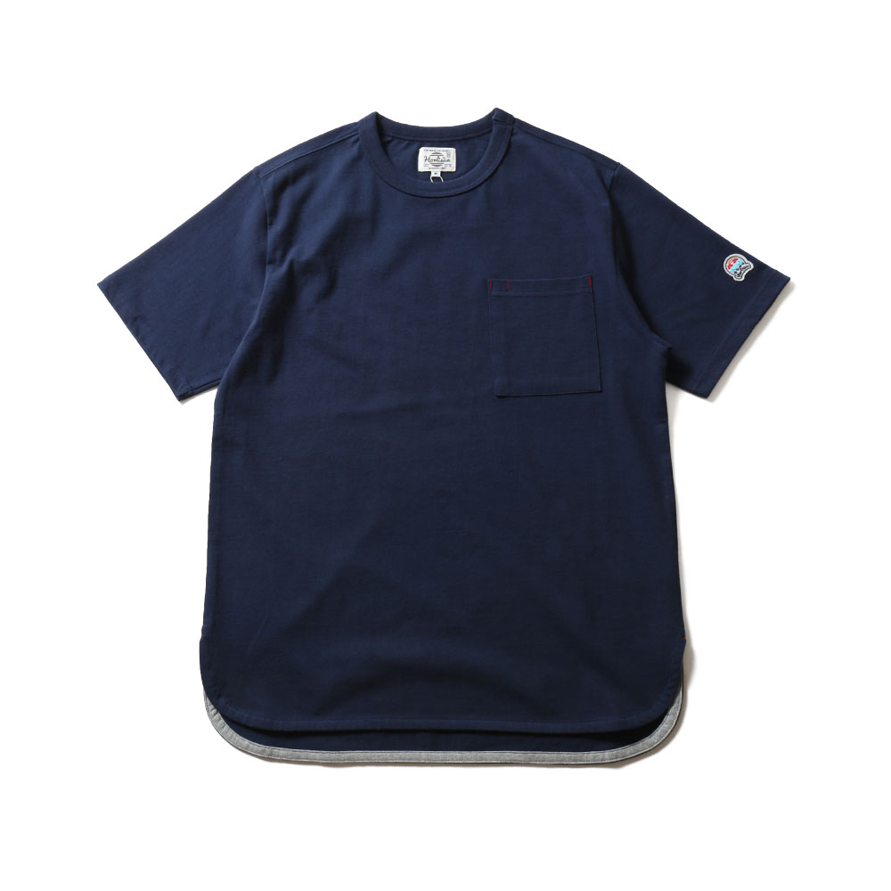 HORLISUNEmery Short Sleeve Pocket T(Navy)