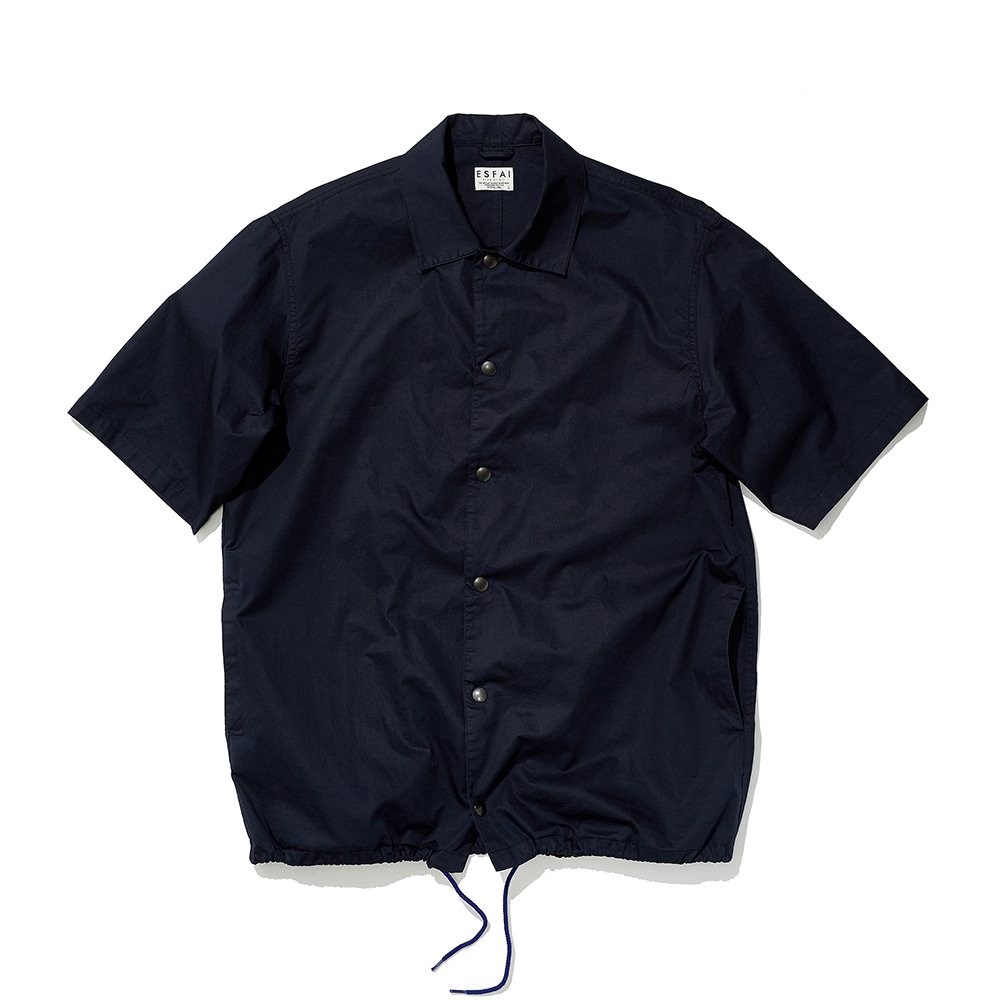 ESFAIHalf Sleeve Coach Shirt(Navy)30% Off