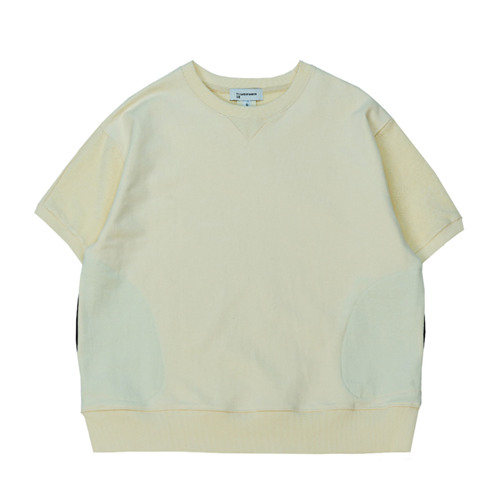 TOEHalf Sleeve Pocket Sweatshirt(Ivory)