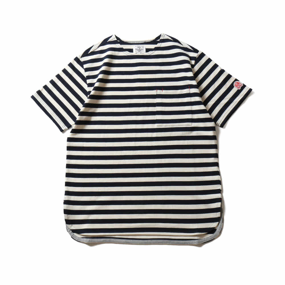 HORLISUNUnion Short Sleeve Pocket T(Navy)