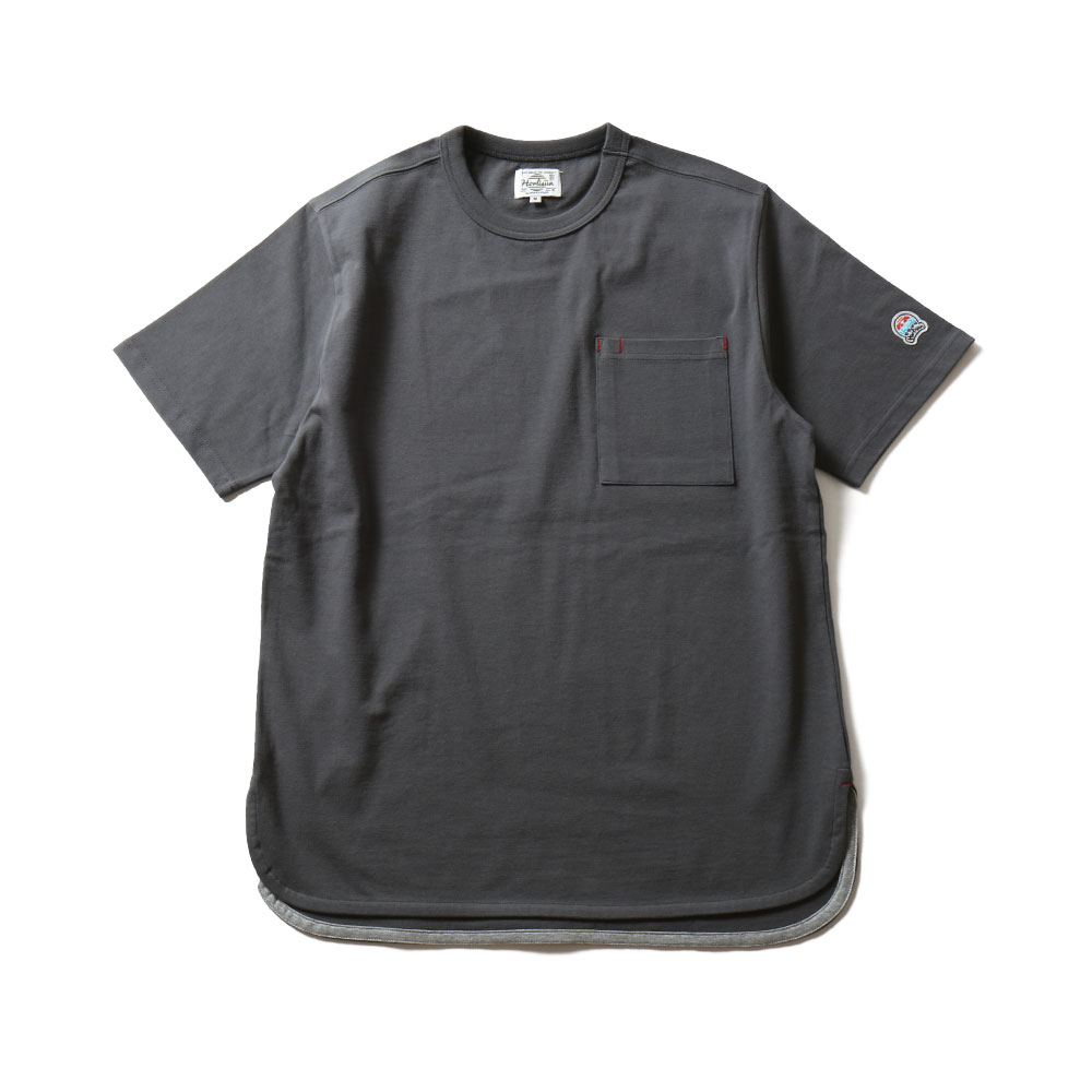 HORLISUNEmery Short Sleeve Pocket T(Charcaol)