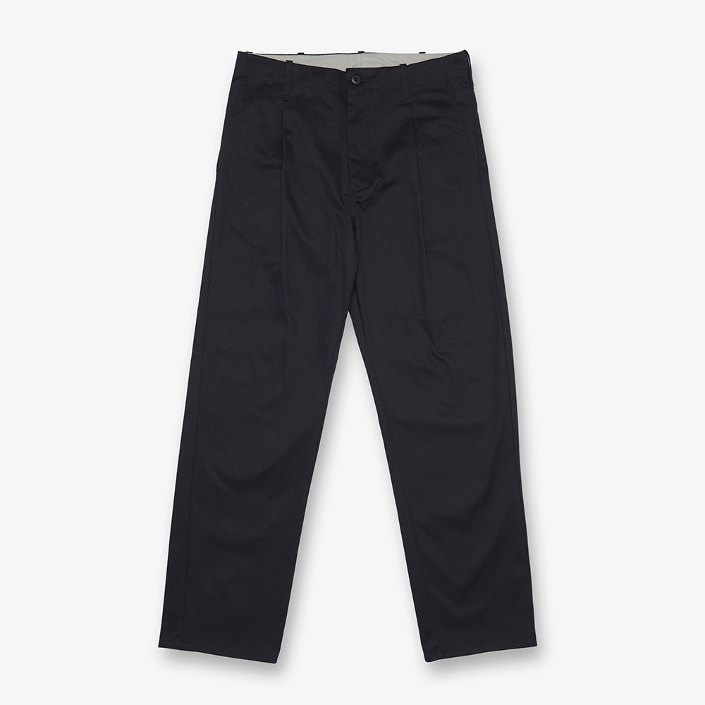 UNIVERSAL OVERALLTuck Pants(Navy)30% Off
