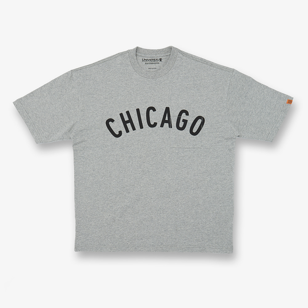 UNIVERSAL OVERALLCHICAGO T(Grey)30% Off