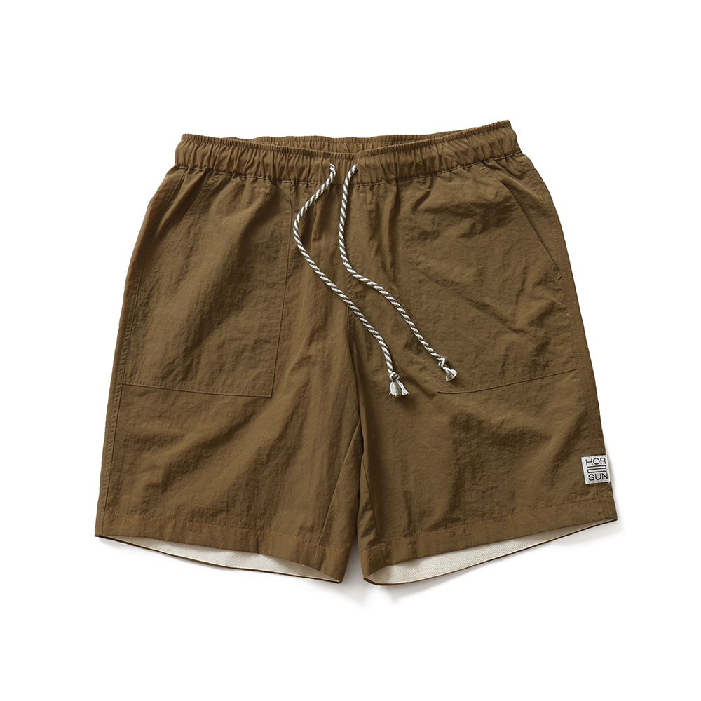 HORLISUNRipley Half Fatigue Pants(Beige)