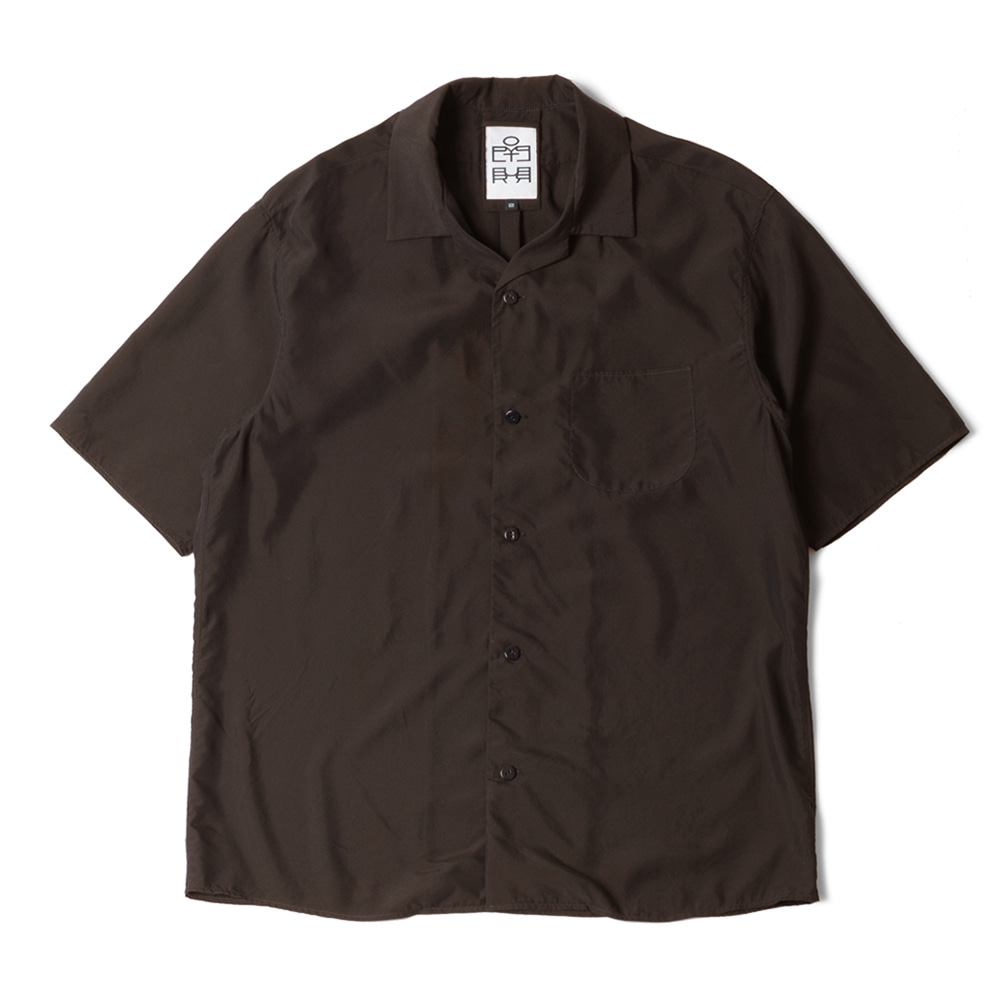 POLYTERURealxed Shirts(Brown)
