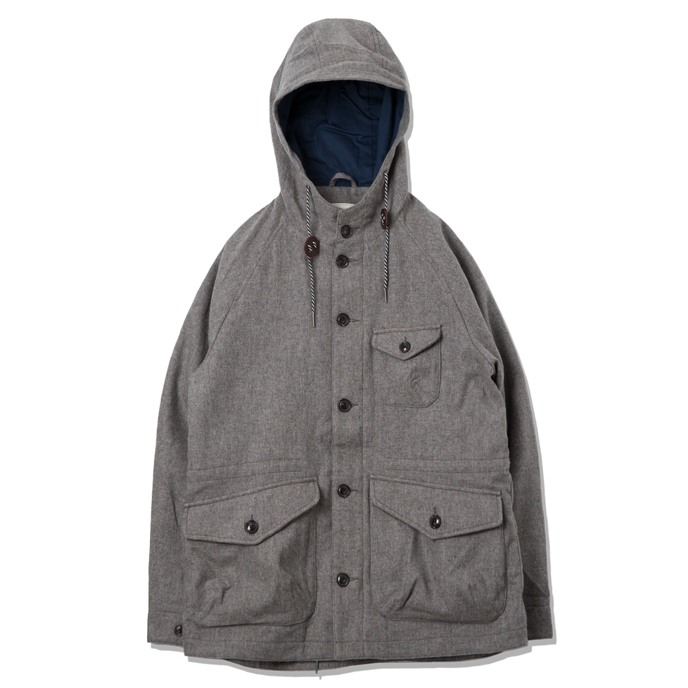 ROUGH SIDEMountain Parka(Grey)
