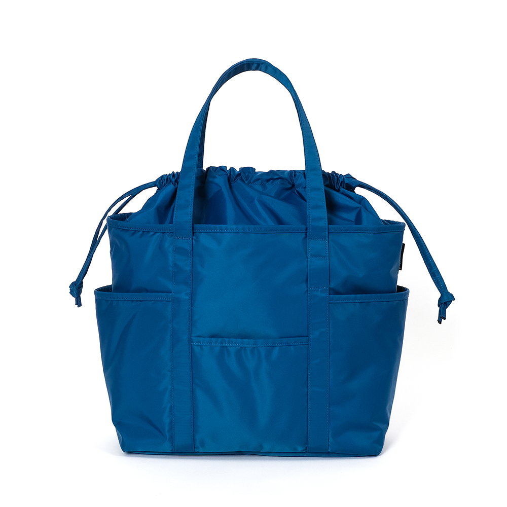 MAZI UNTITLEDNylon Cafe Tote(Blue)