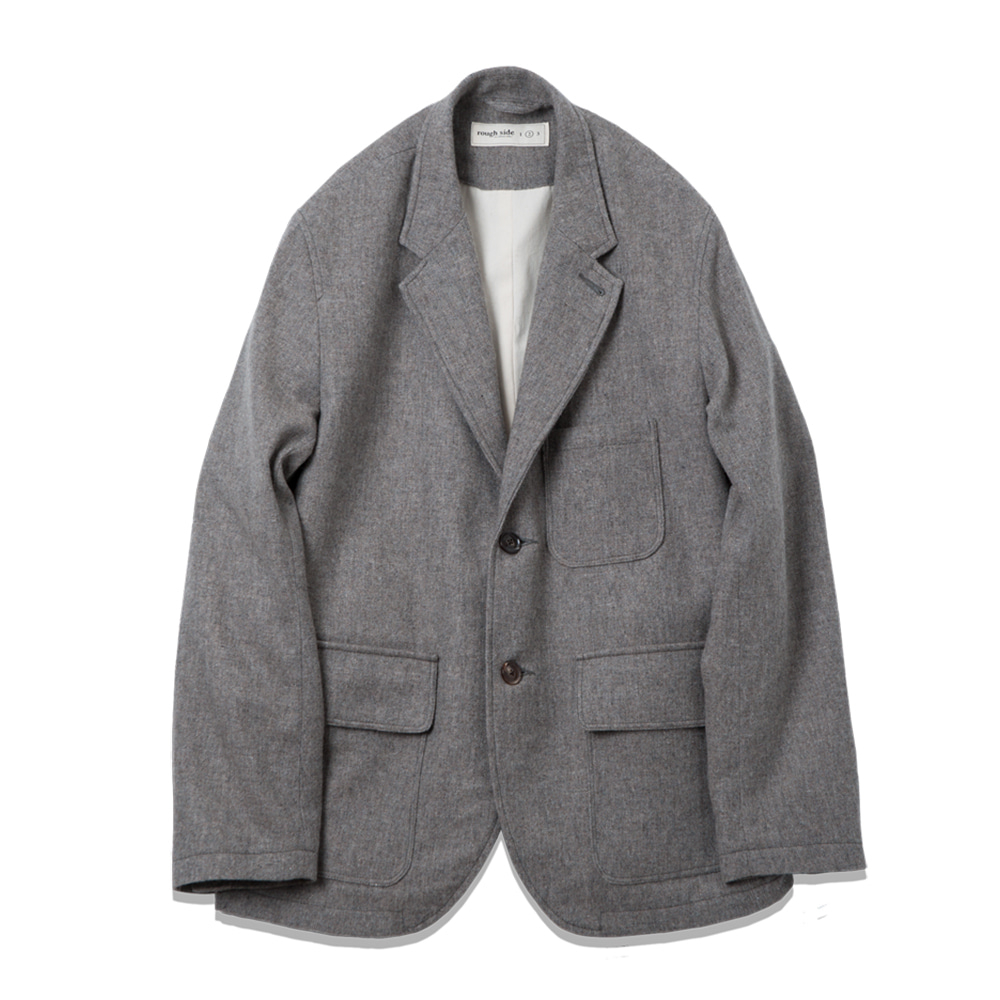 ROUGH SIDEHomespun Jacket(Grey)