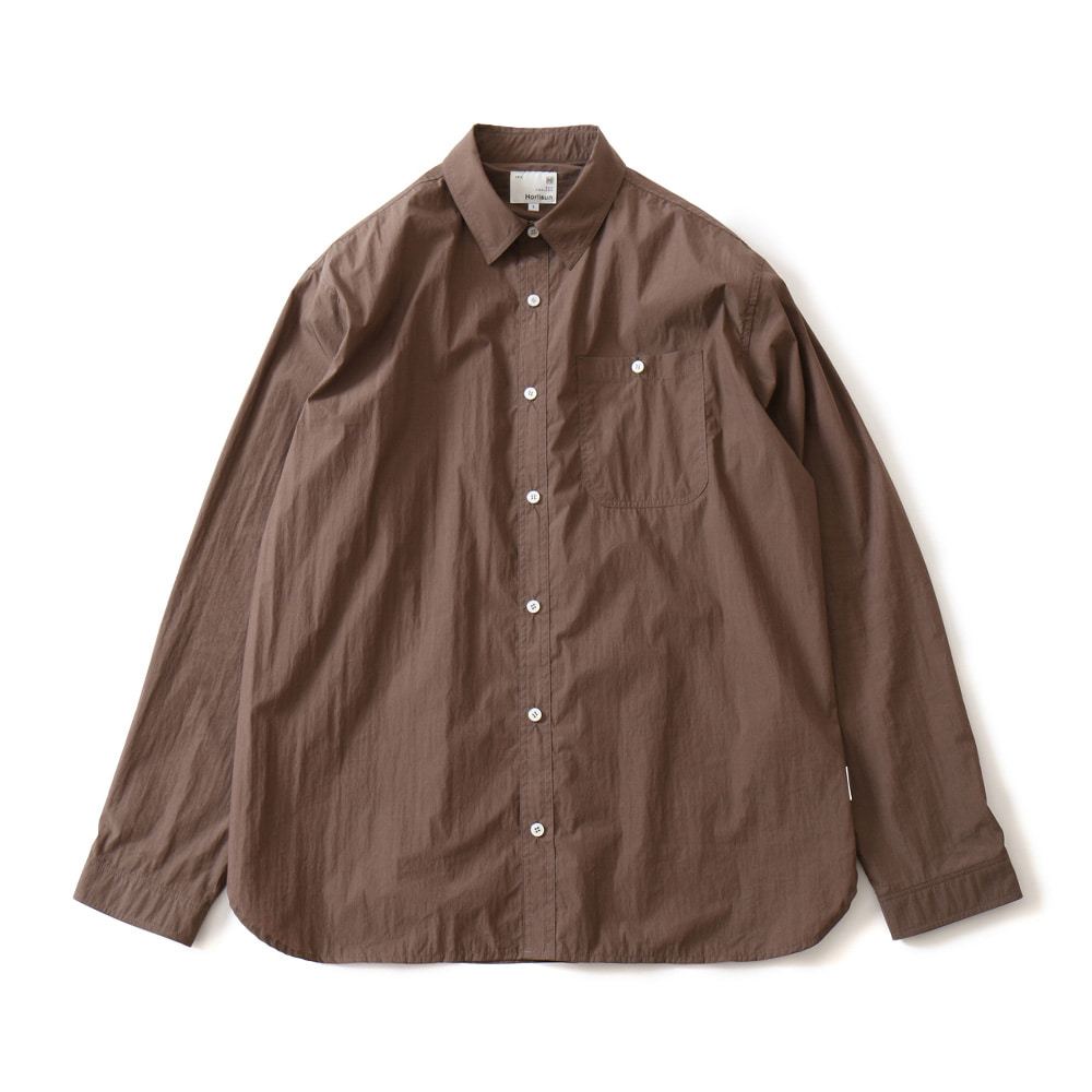 HORLISUNDundas Cotton Nylon Shirts(Brown)