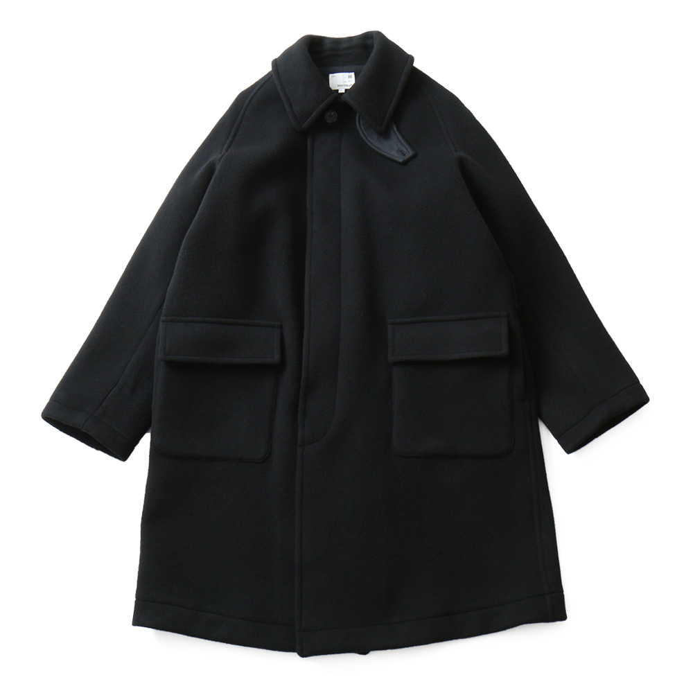 HORLISUNWinterport Wool Coat(Black)10% Off