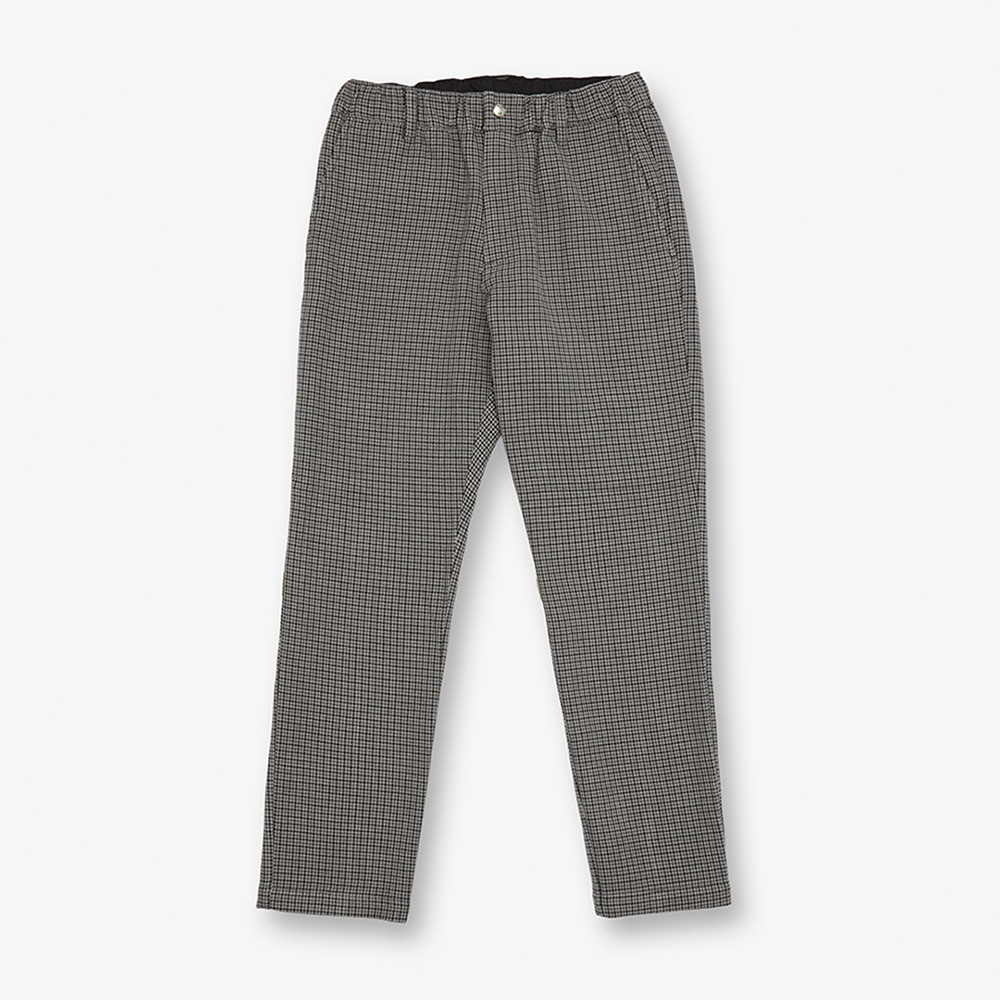 UNIVERSAL OVERALLWomen's Check Tapered Pants(Grey)30% Off
