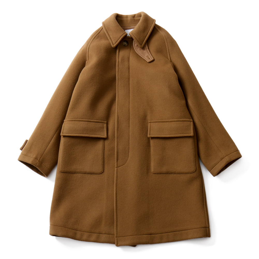 HORLISUNWinterport Wool Coat(Camel)10% Off
