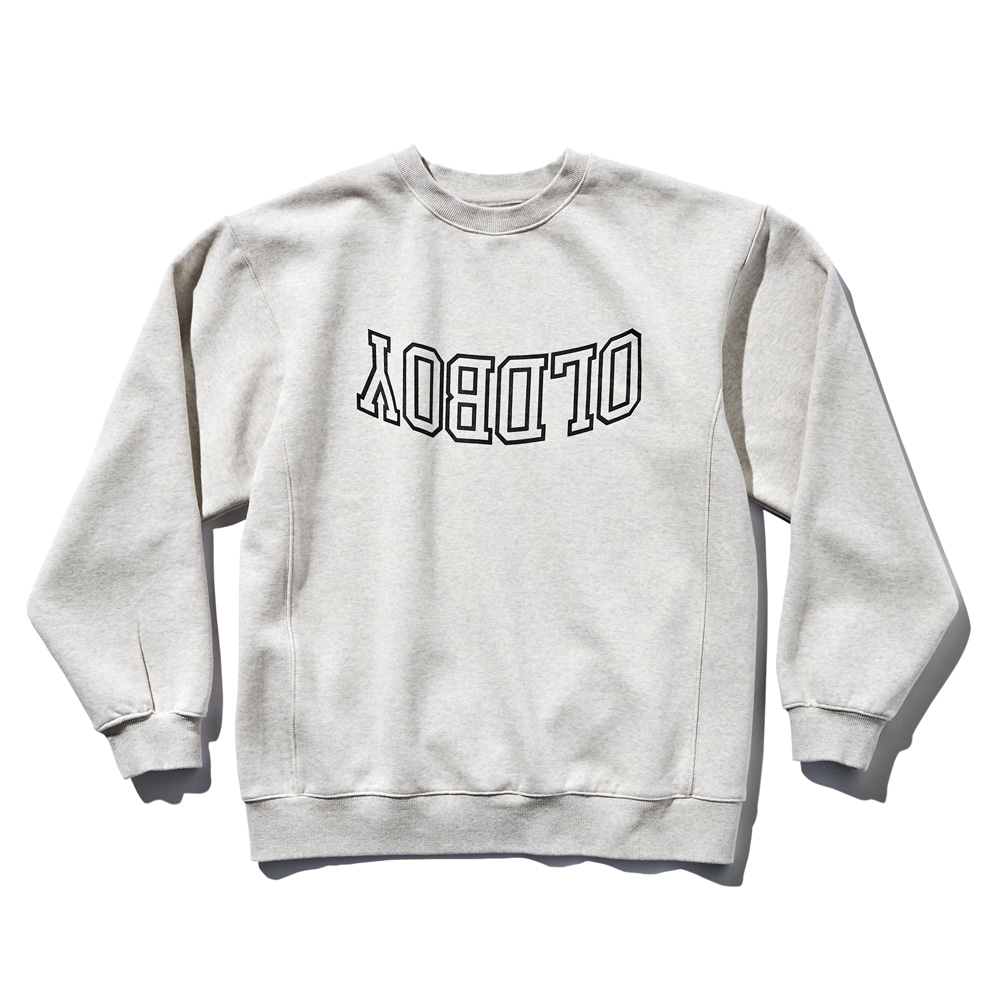 DEUTERODTR1918 90s Sweat Shirts Oldboy(Melange Grey)