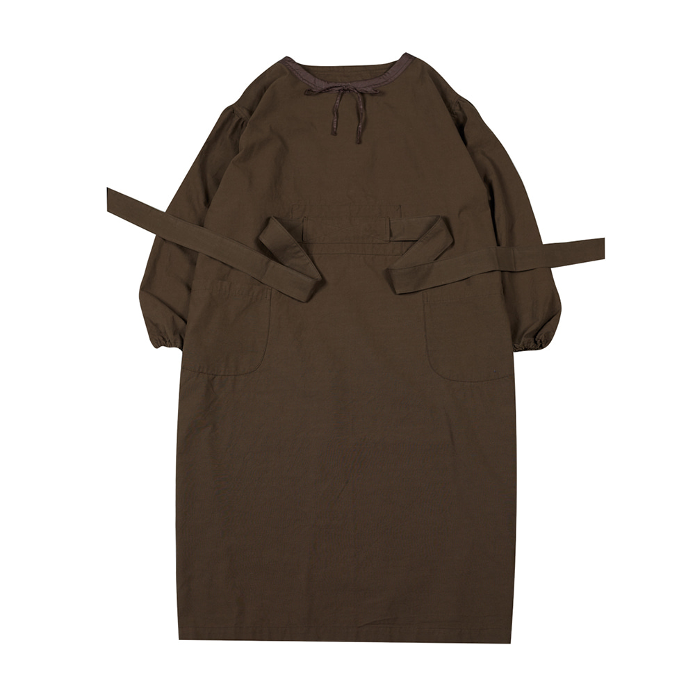 TOEBalloon Dress(Khaki)20% Off