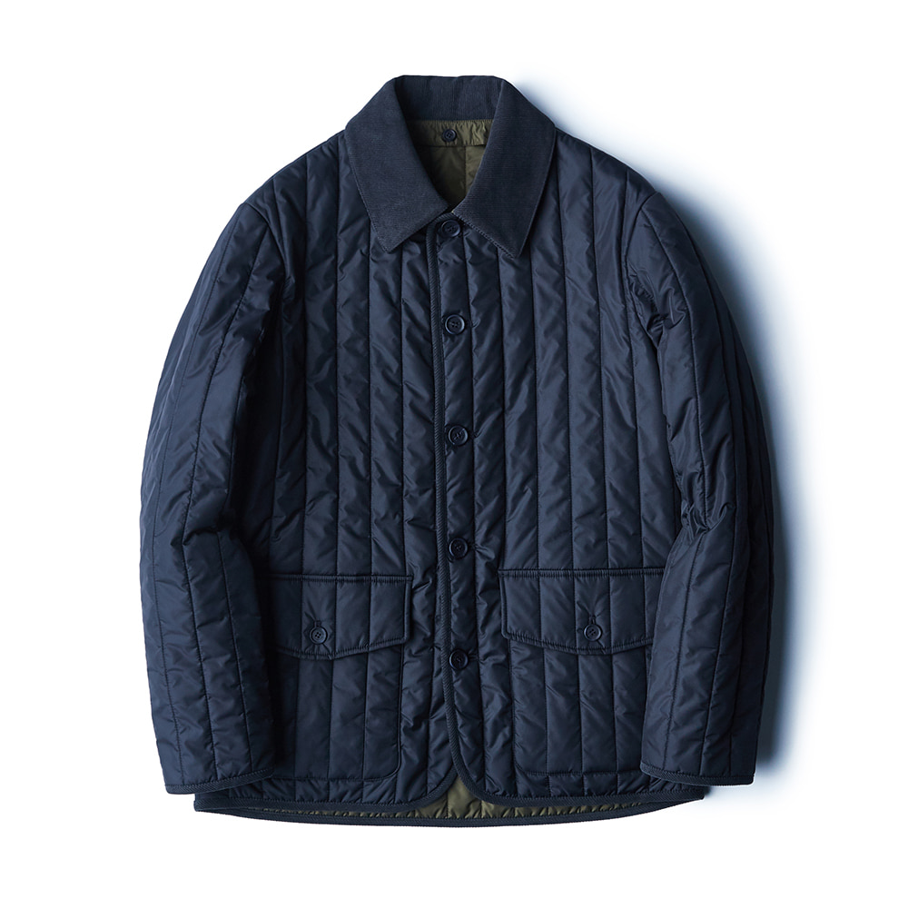 ESFAIfd09 Quilted Jacket(Navy)