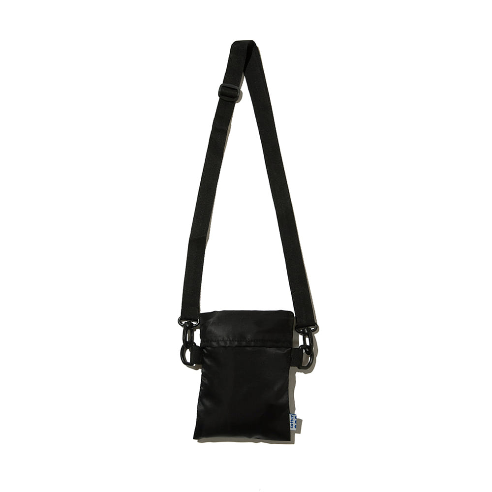 SOFTURLaundry Tote Bag(Black)