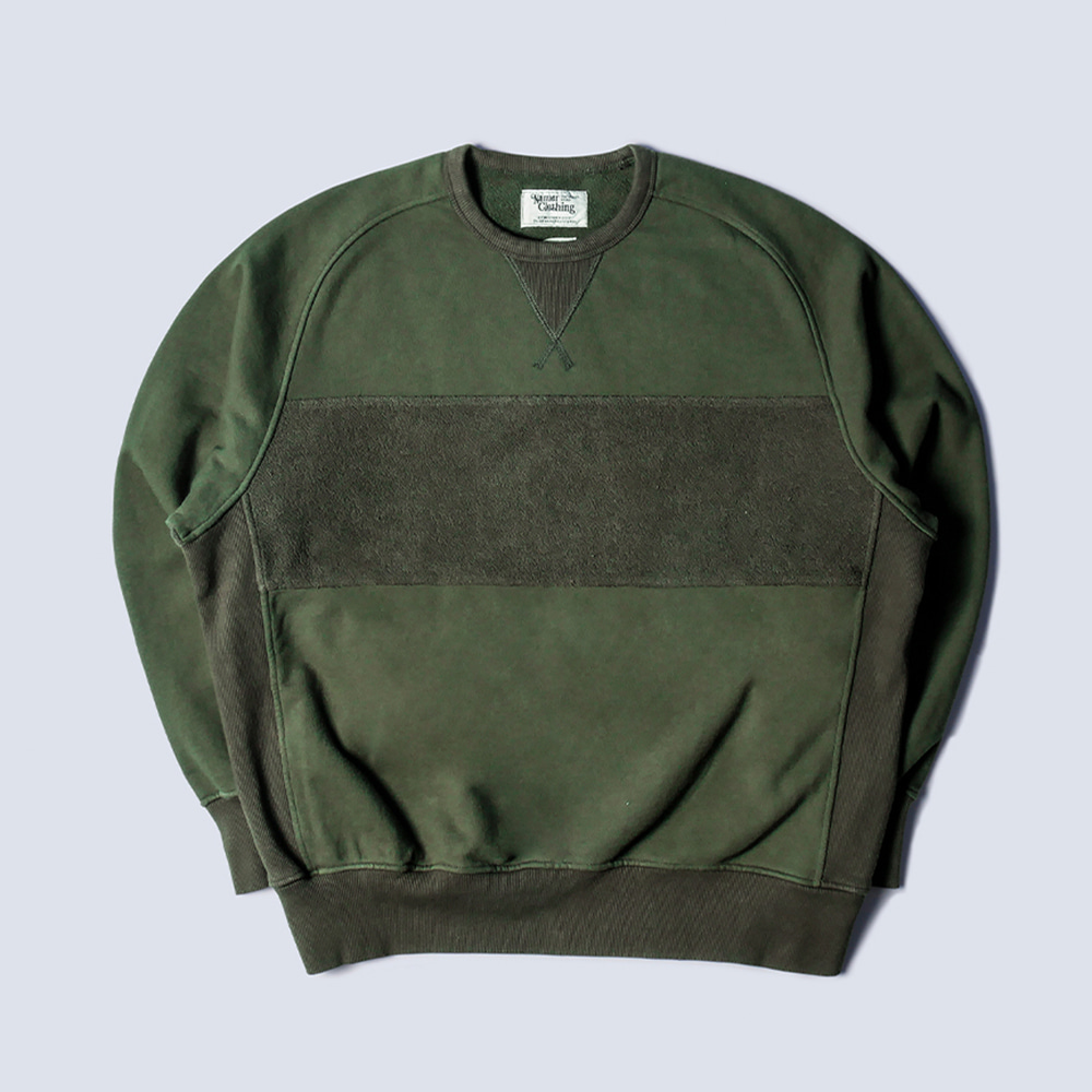 NAMER CLOTHING4th Crewneck(Olive)