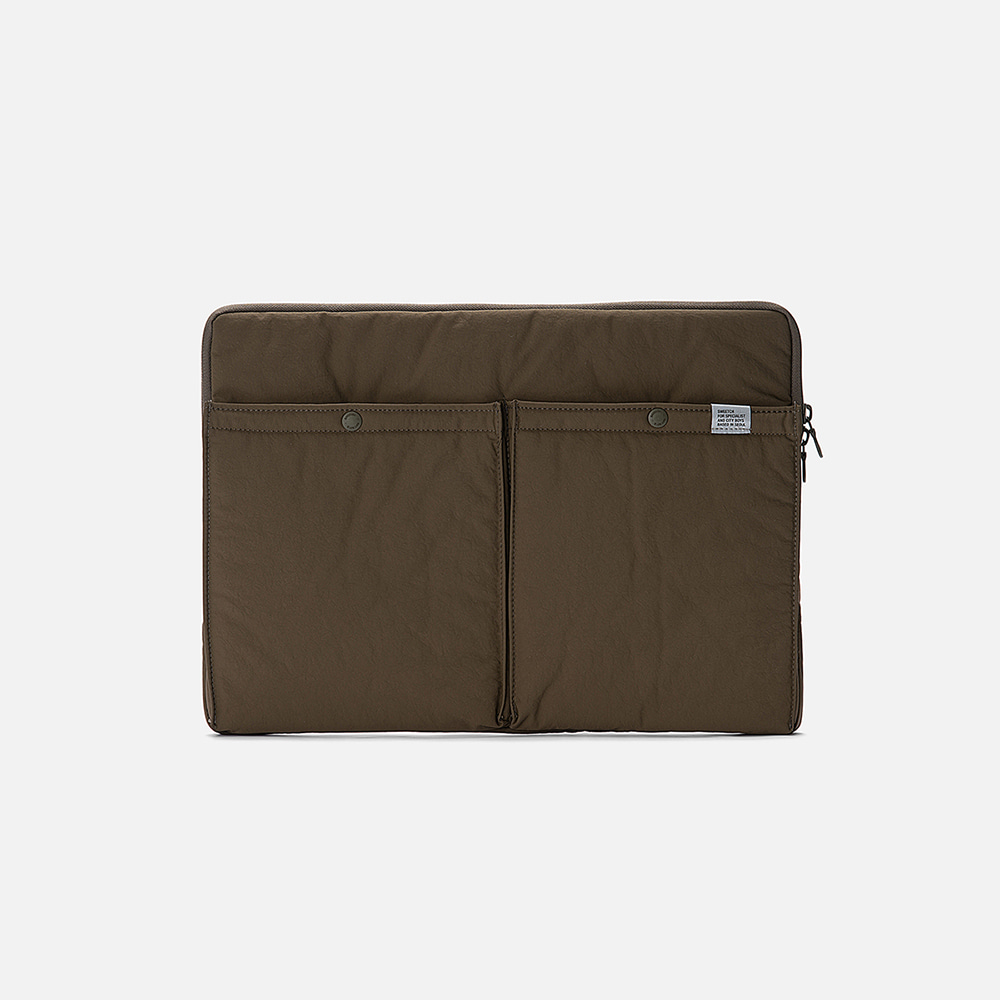 SWEETCH[City Boys]Laptop Case(Khaki)