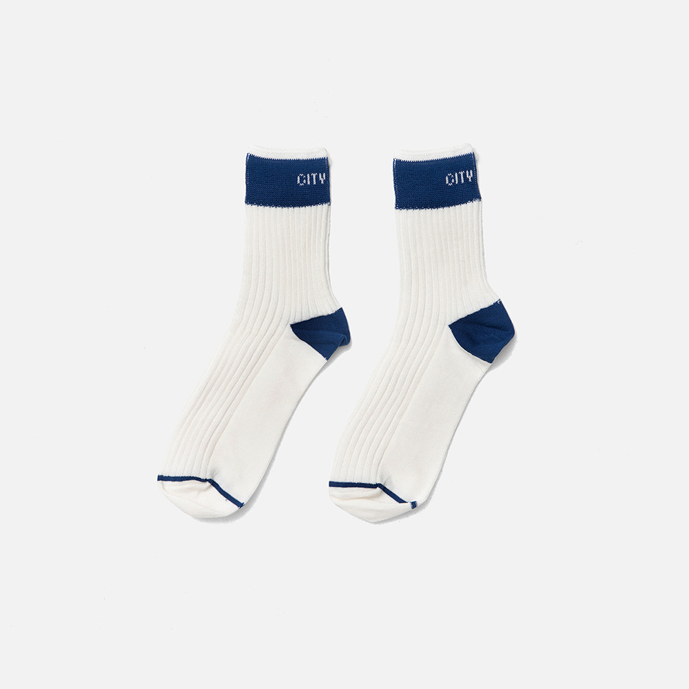 SWEETCH[City Boys]City Boys Socks 001(White)