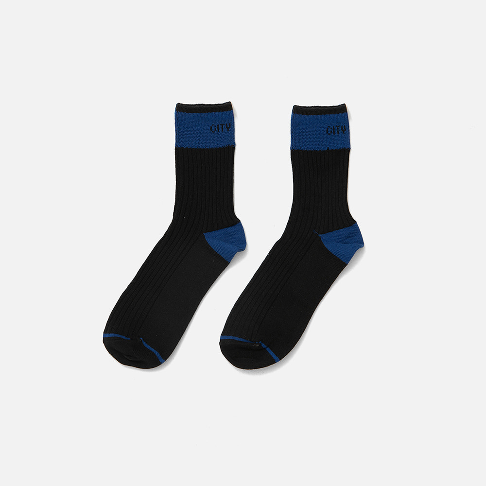 SWEETCH[City Boys]City Boys Socks 001(Black)