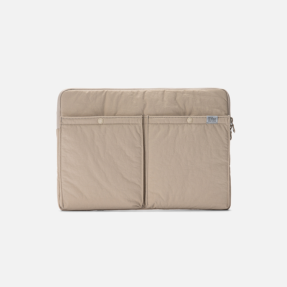 SWEETCH[City Boys]Laptop Case(Sand)