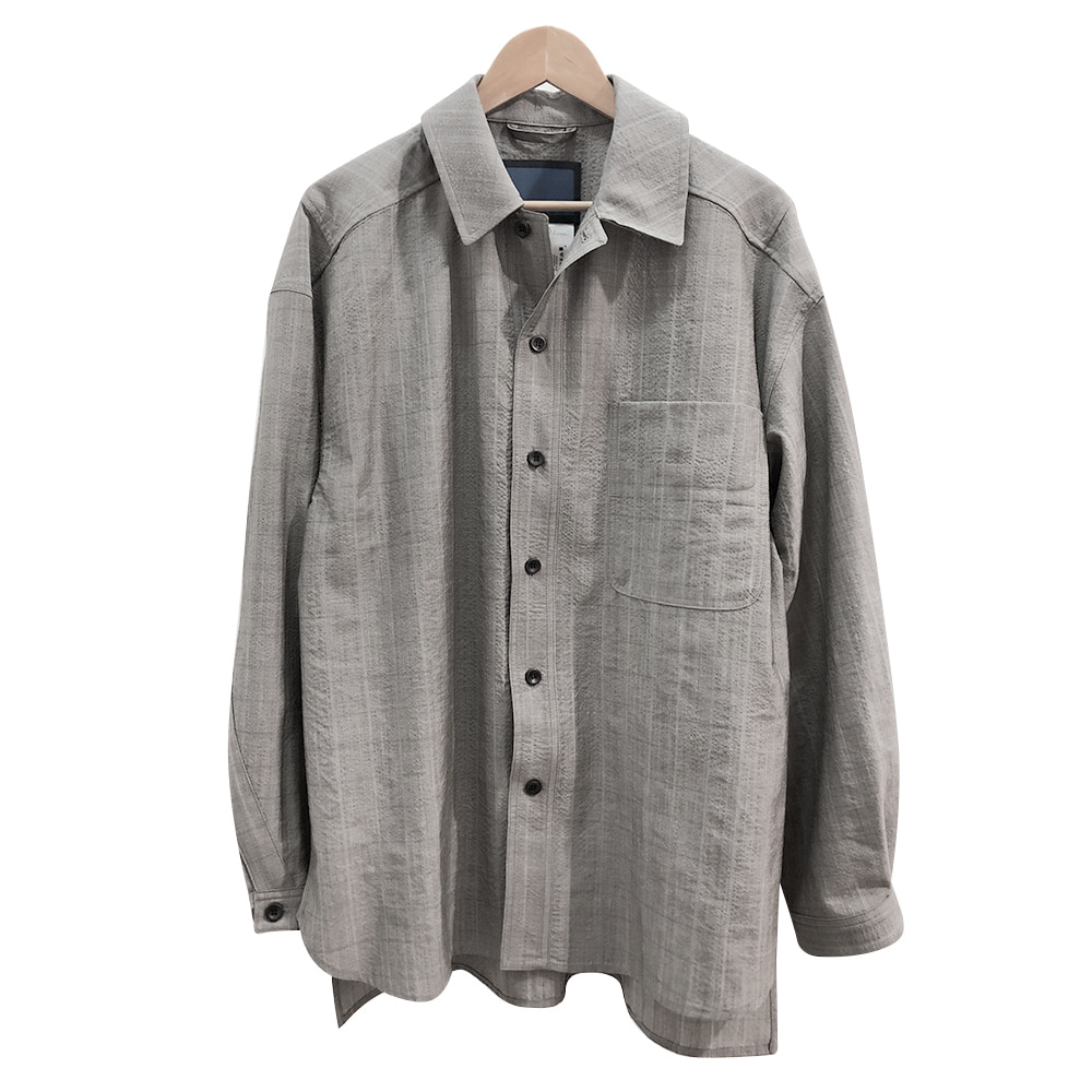 DOCUMENTWool Over Shirts(Grey)