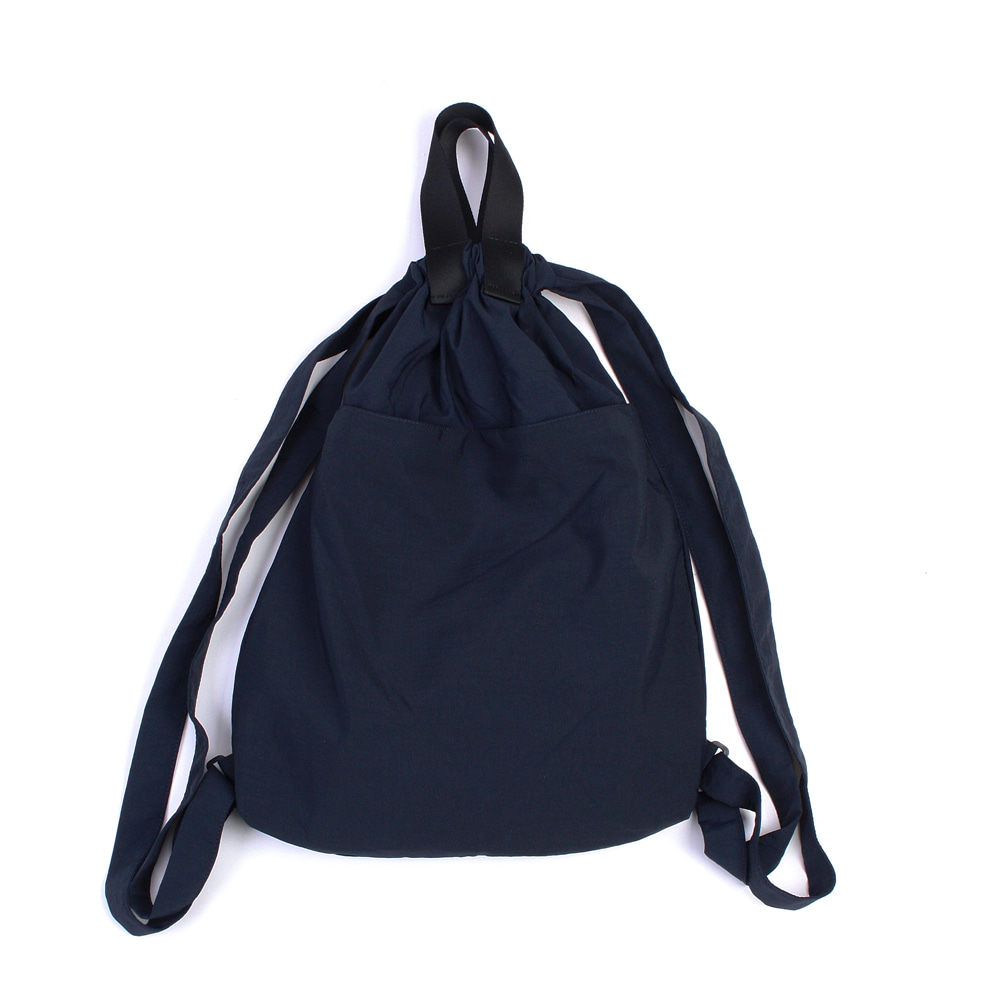 YOU NEED GARMENTSNylon Manual Bag(Deep Blue)