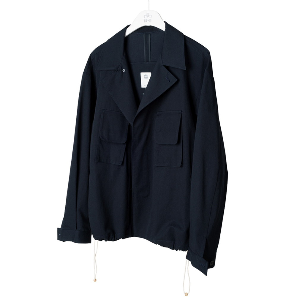 POLYTERUBalloon Jacket(Navy)