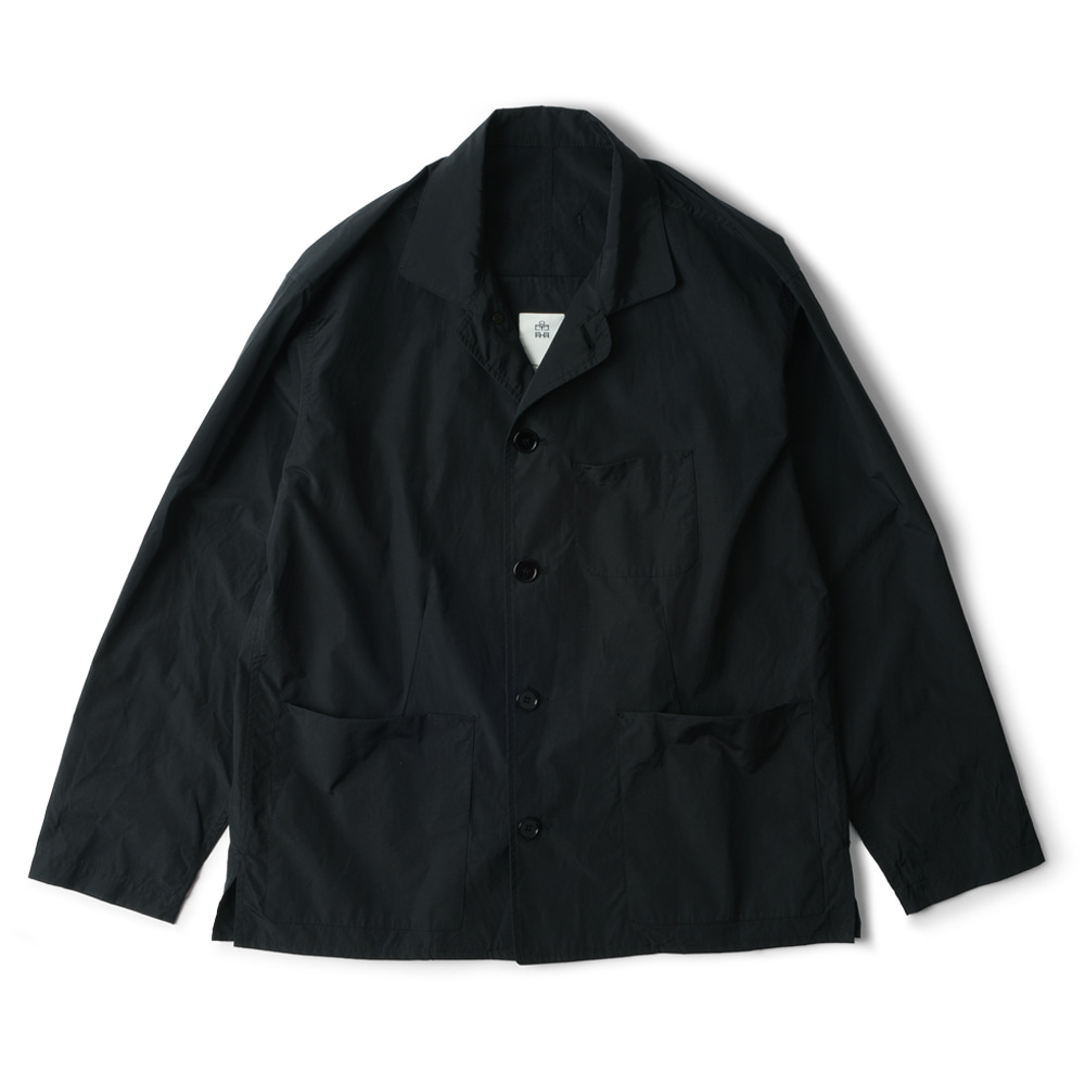 POLYTERUNylon Coverall Jacket(Black)