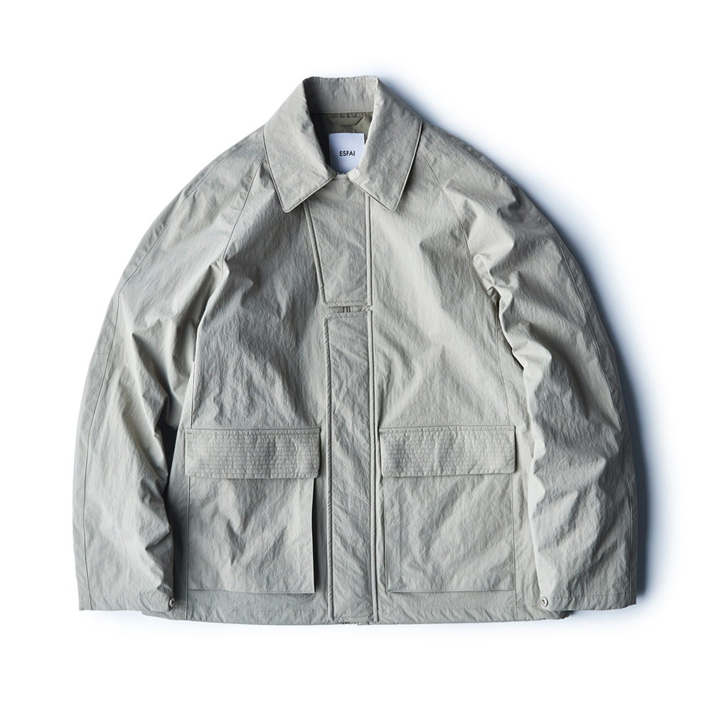 ESFAINylon Jacket(Mint Grey)