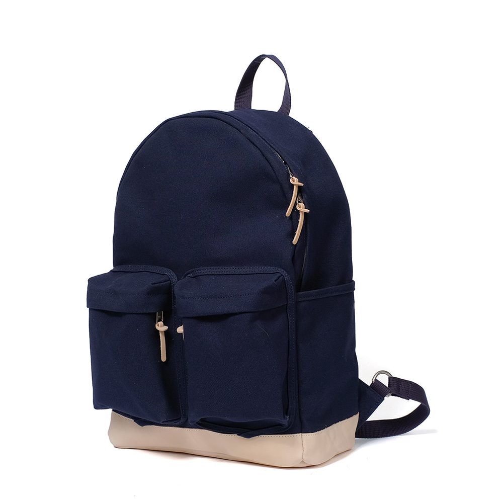 MAZI UNTITLEDAll-Day Back Canvas(Navy)10% OFF