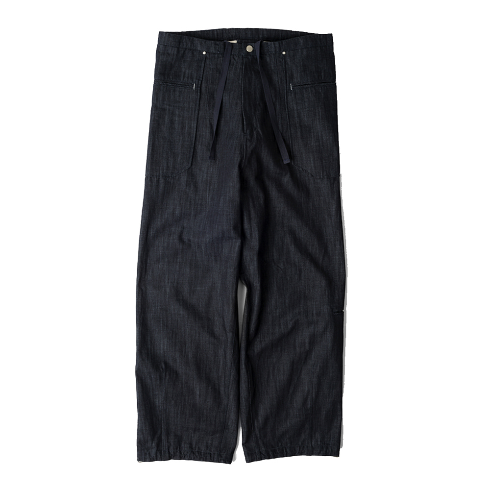 POLYTERULiso Pants Denim(Indigo)