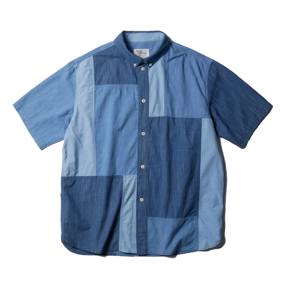 NAMER CLOTHINGBluer Block Shirts(Blue)20% Off
