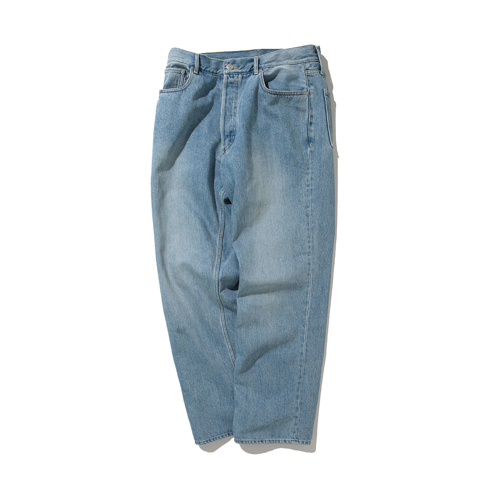 SOFTURRegular Denim Pants(Bleach)