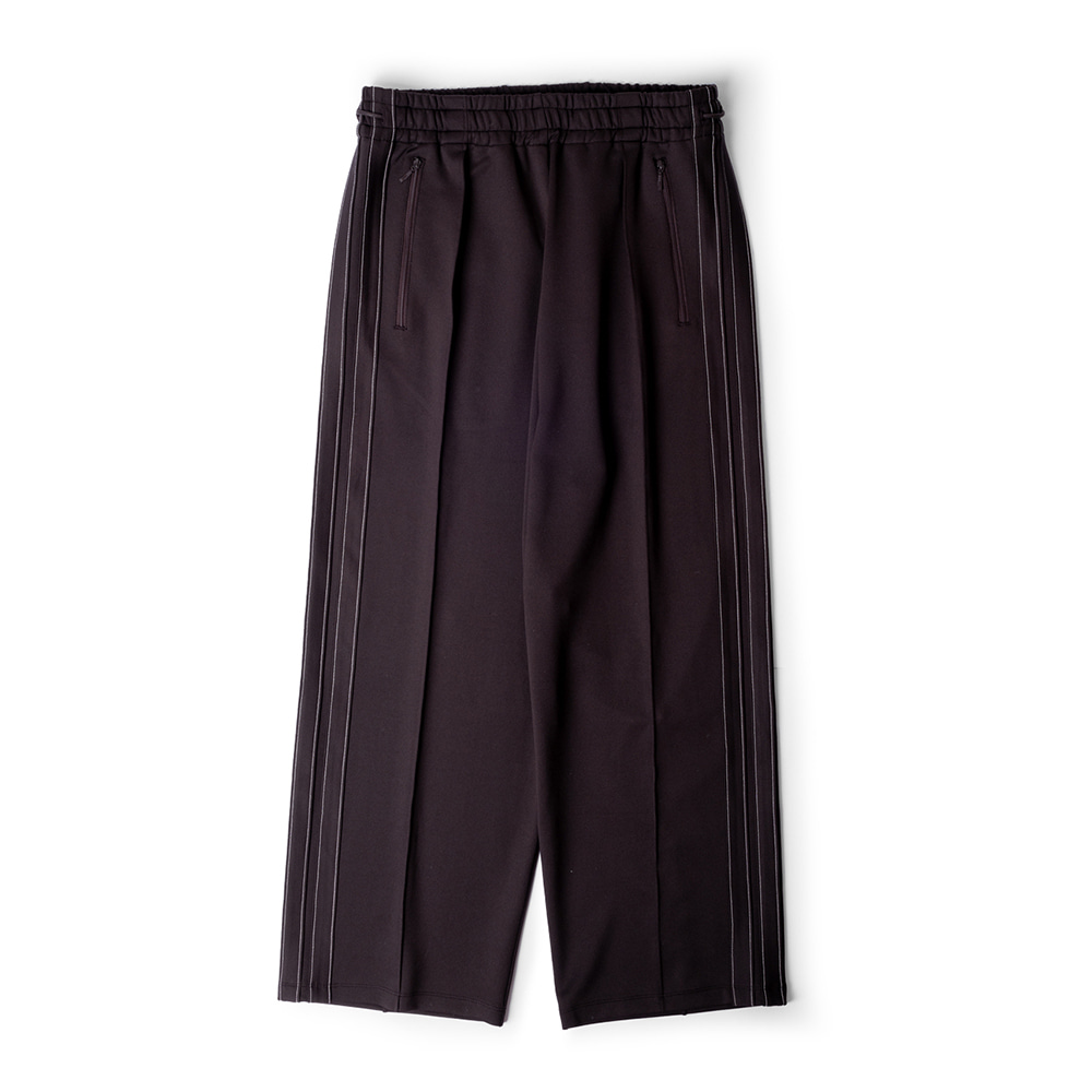 POLYTERUTrack Pants(Purple Brown)